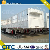 store house bar semi trailer fence trailer with air suspension