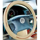 Tie steering wheel cover
