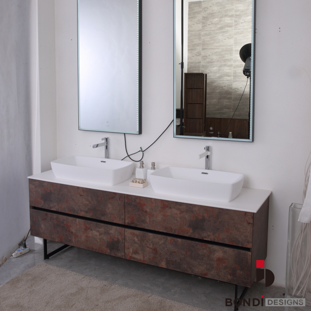 Inspired by your recent search view more view larger image free floor standing mirror bathroom cabinet
