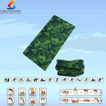 LSB-0036 Ningbo Lingshang 100% polyester multifunctional seamless outdoor neck tube coolmax cycling bandanas
