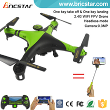 Professional wifi fly spy drones 2.4G 4CH rc helicopter with camera
