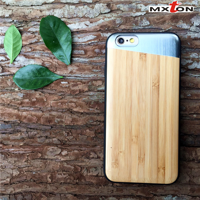 for iPhone 6 Phone Case Wood, Full Protective TPU Case for iPhone 6s Wooden Cell Phone Case Cover from Guangzhou