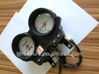 Motorcycle spare parts speedometer odometer assy black plate material ABS