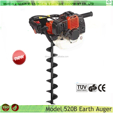 Soil Auger Tools Hand Held Post Hole Digger 52cc Ground Drill