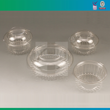 Take Away Clear Plastic Salad Bowl