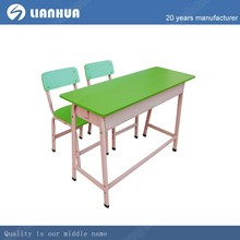 high quality children double desk and chair