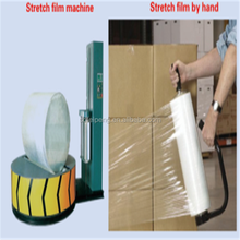 100% virgin raw material,PVC Material and Stretch Film Type plastic clear moisture proof film