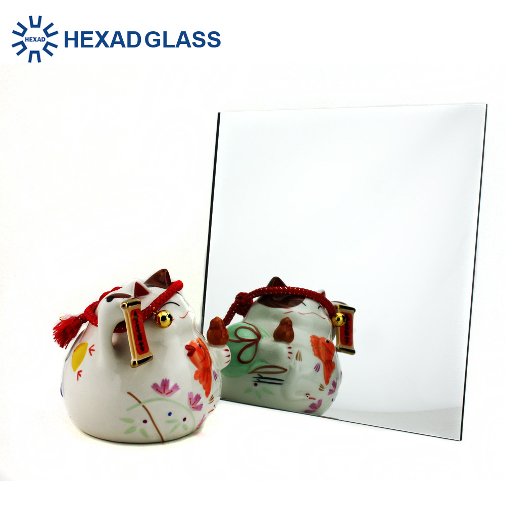2mm 4mm 5mm large wall decorative silver coated colored mirror glass