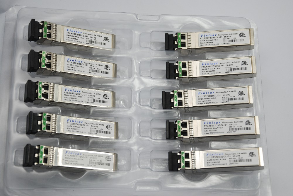 Mini GBIC 10gb sfp transceiver Finisar FTLX8572D3BCL-G1