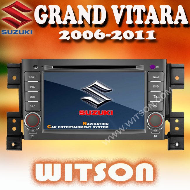WITSON touch screen car radio gps for suzuki grand vitara with ISDB-T Tuner (Optional)