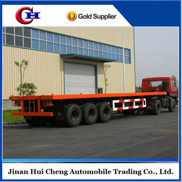 China supplier 40ft flat bed container chassis for sale