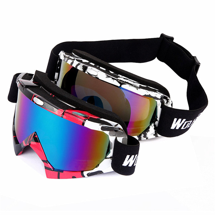 High Quality Protective Outdoor ATV Off Road Eyewear TPR Motorcycle Goggles For Racing Sports