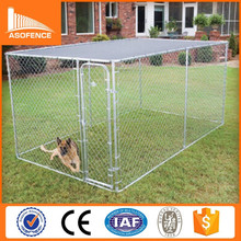 US best sell high quality folding galvanized steel dog kennel