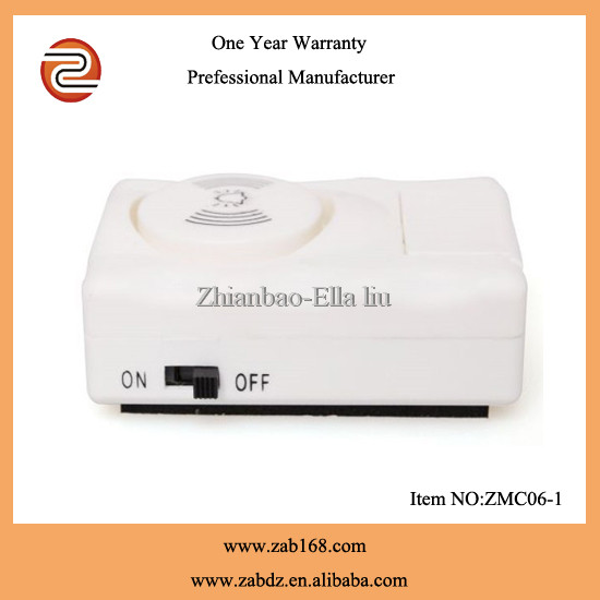 ZMC06-1,wireless magnetic door/window/entry contact sensor alarm kits,work independently,autoalarm