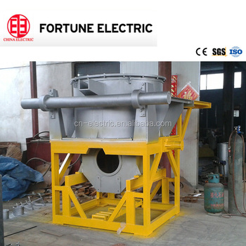 High Quality China Casting Industry Copper Melting line-frequency cored induction furnace