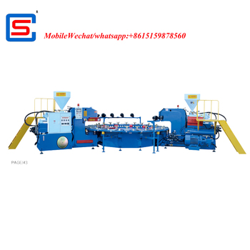 STRONG AUTOMATIC ROTARY pcu INJECTION MOULDING MACHINE