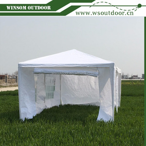 Outdoor 3 x 6 Meters Economy Wedding Party Tent Marquees White with Sidewalls