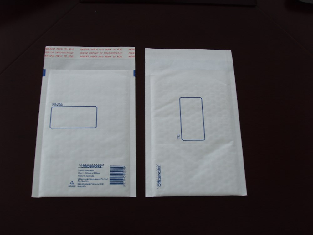 Kraft Paper Air Bubble Envelopes/Standard Size Bubble Mailer/Wholesale Bubble Envelopes