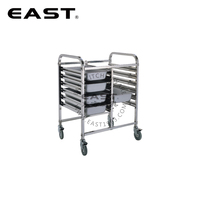 Factory Price Tray Trolley Tray Rack