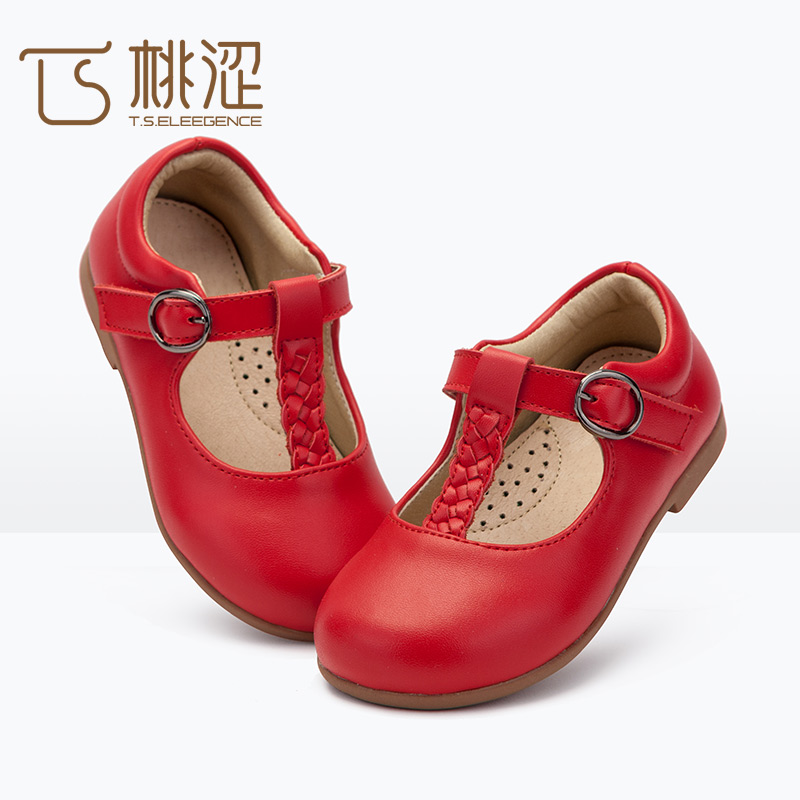 High quality outsole girls red <strong>shoes</strong> with great price