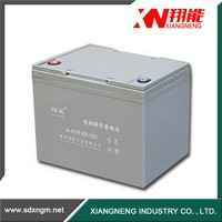 High capacity 65Ah batteries motorcycle battery