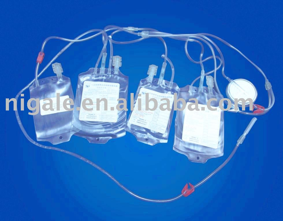 Blood Bag with In-line Leukoreduced Filter