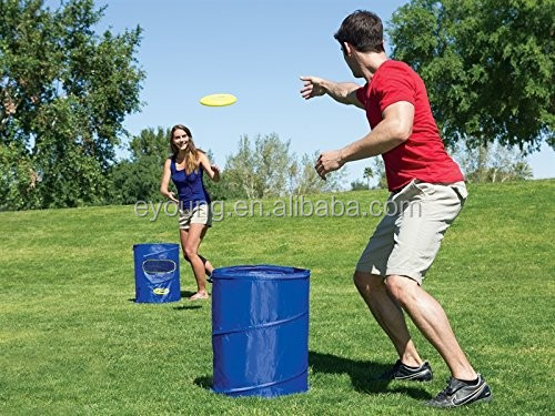 Outdoor Sports Disc Flyerz/ Disc Dunk Toss Game Set