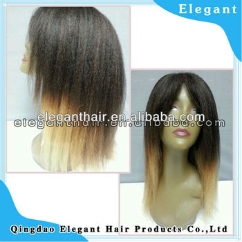 5a top quality full lace virgin remy human hair wig