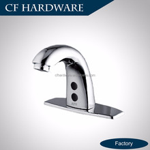 Chrome plated treatment shiny brass automatic mixer