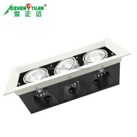 cheap price commercial shop lighting 30W led grille light