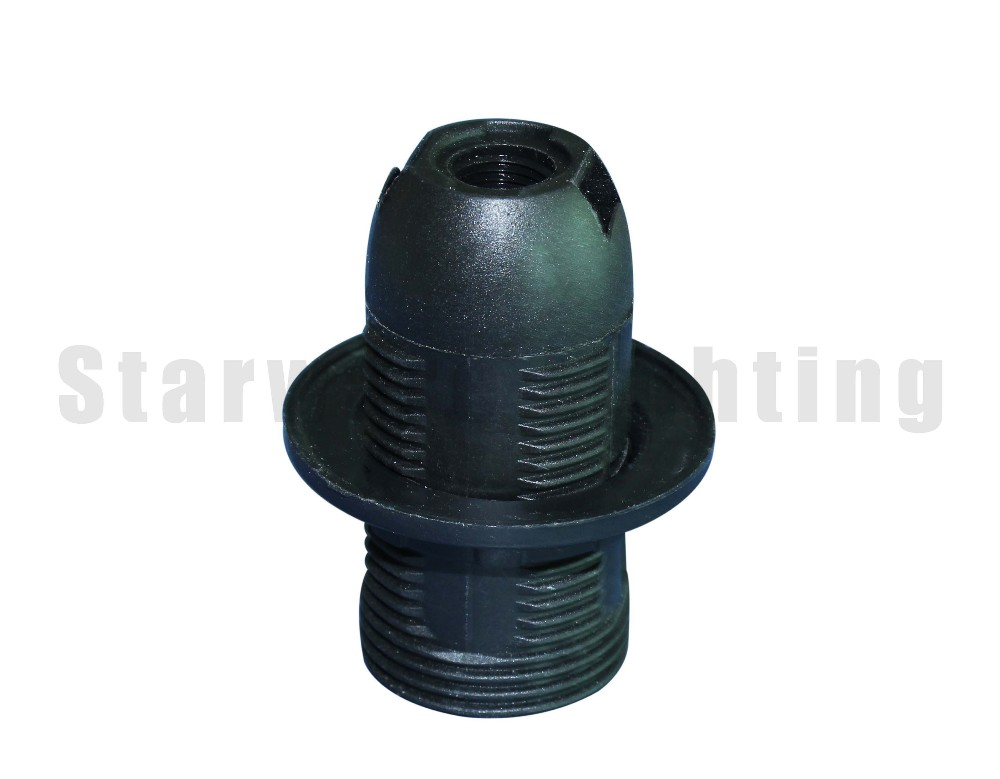E14 thread outer shell shade ring plascic lamp holder T210 for pendant lamp table lamp