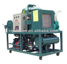Hydralic Oil Filtration Plant / Vacuum Oil regeneration purification machine with pure physical filtration method