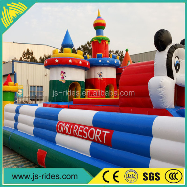 China top ten selling kids inflatable outdoor games inflatable princess bouncy castle for promotion