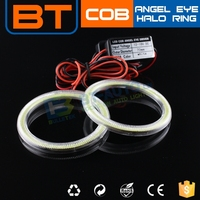Brightness DC 12-24V 60MM 70MM 1*Full Ring Cob Angel Eyes Ring