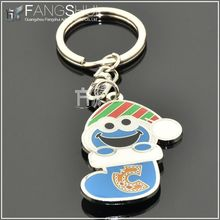 2014 gadgets fortune cat blank metal keychain