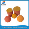 China Putzmeister concrete pump rubber cleaning ball dn125-dn150
