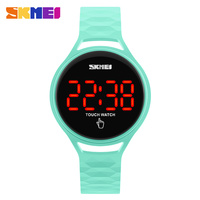 OEM unisex led wristband waterproof designer replacable fashion touch screen watch