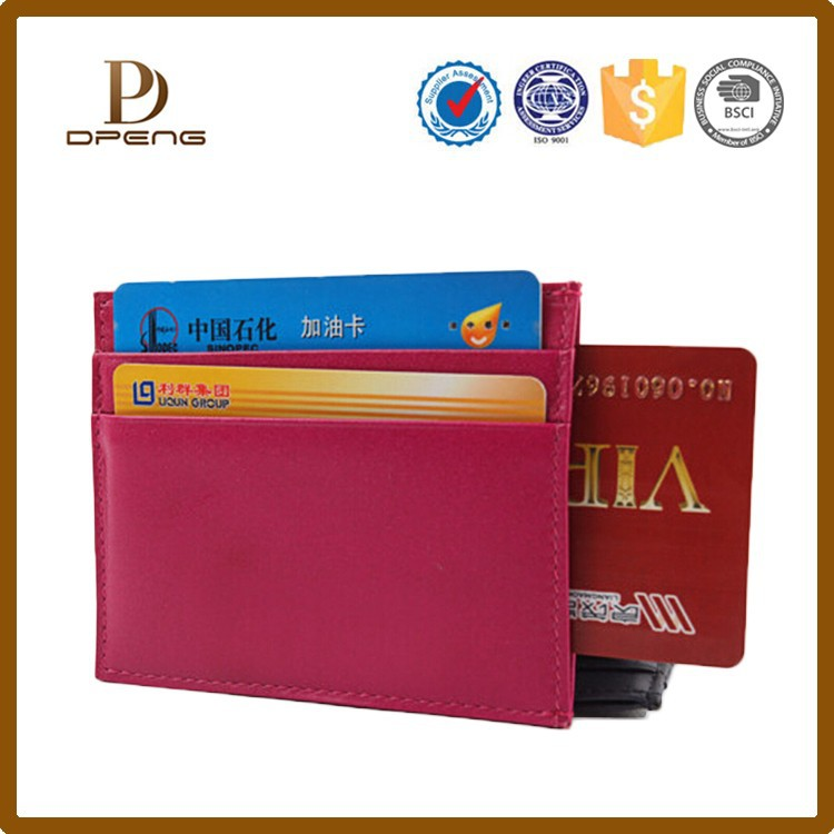 Wholesale Custom name card holder,magnetic business card holder,personalized leather business card holder