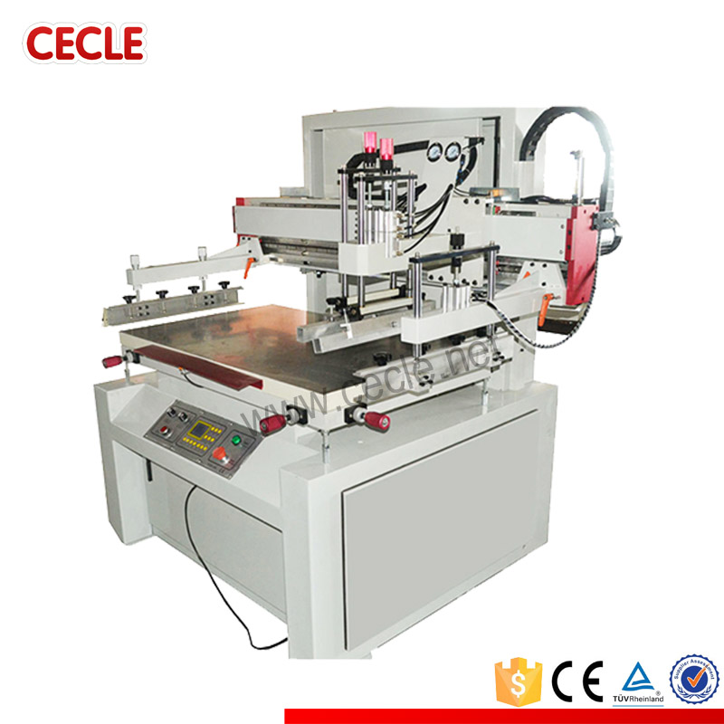 Small size portable screen printing machine