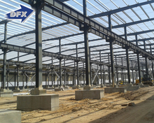Cheap Steel Building Construction Warehouse / Factory Pre-engineered Metal Structures