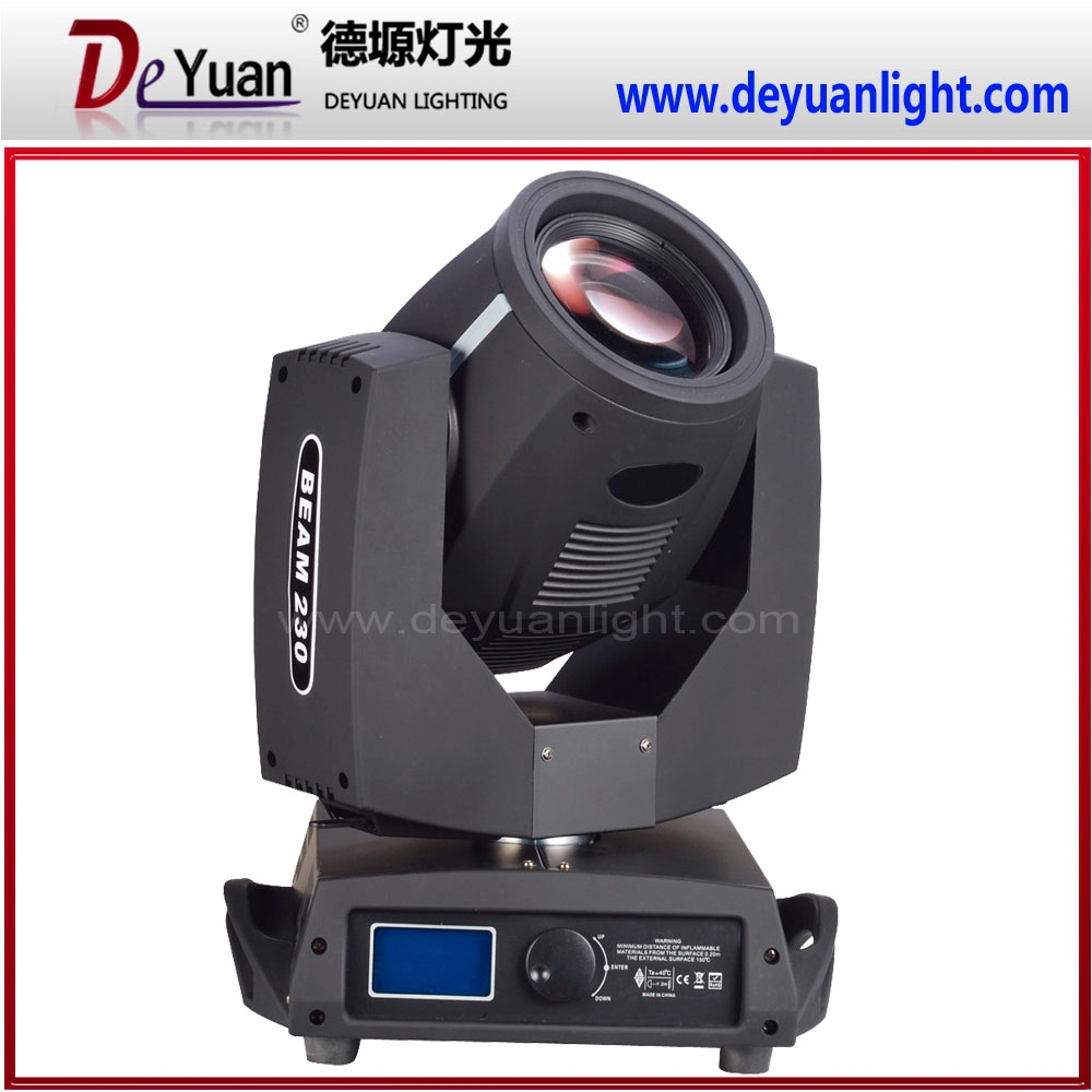 pro light moving heads 230W 7r sharpy beam moving head stage light