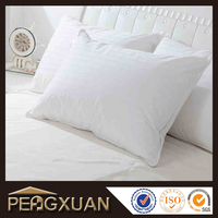 China factory wholesale cheap price white plain hotel pillow for adult group health care of the neck