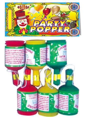 popper fireworks party pop for festival