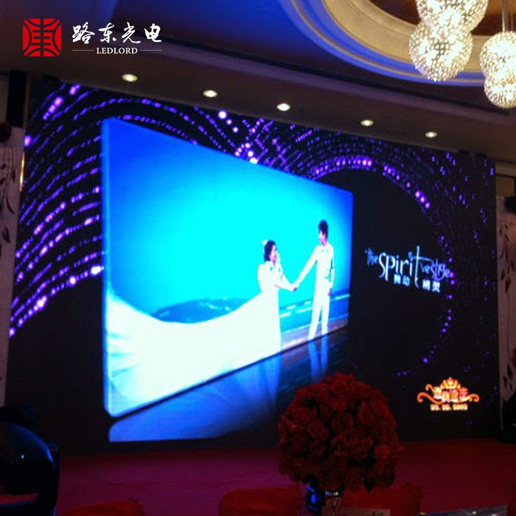 China Supplier Ture Color indoor full color virtual led screen