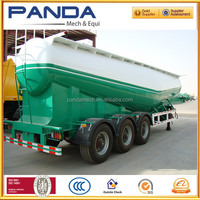 PANDA top quality 3 axle 24cbm dry powder particle tanker for sale Ecuador
