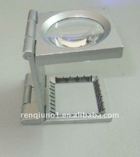 heidelberg 8X metal form magnifying glass