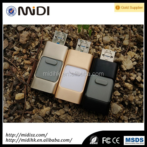New product OTG USB Flash Drive Memory Stick for iPad for iPhone