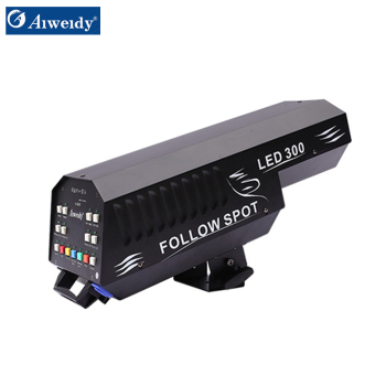 2017 Guangzhou Aiweidy Waterproof and high quality led moving head spot follow spot light