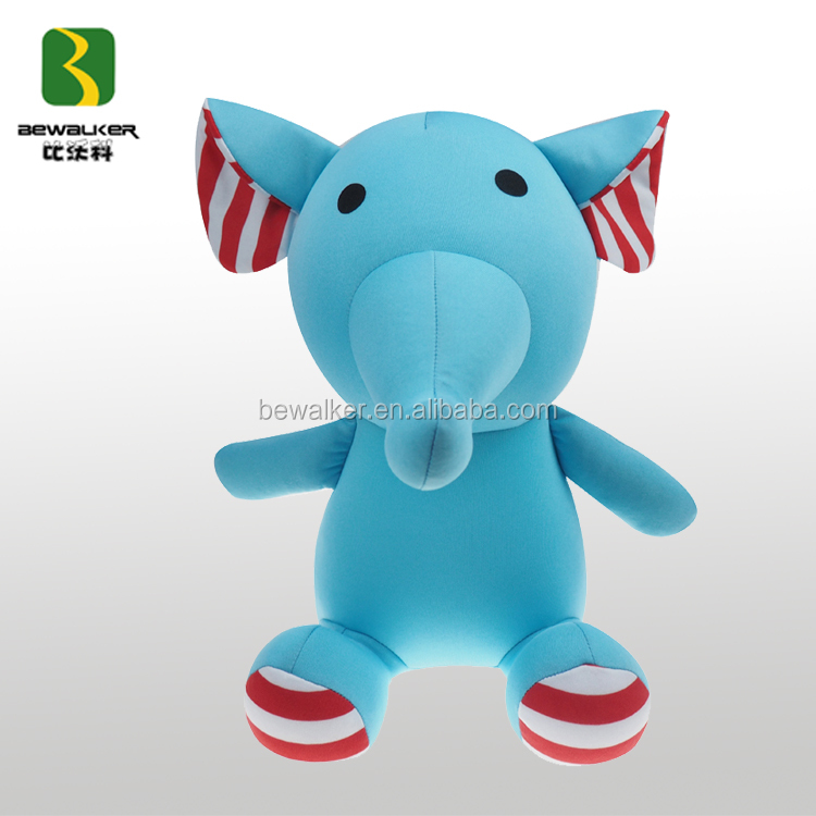 Wholesale Cheap Stuff Blue Color Elephant Toy