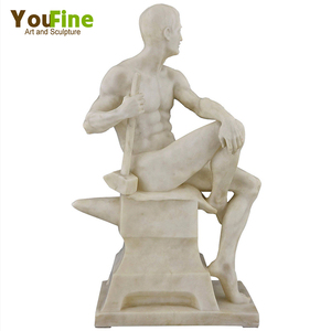 Classical Marble Sculpture Nude Male Staue